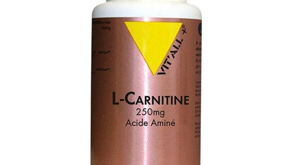 L-CARNITINE 250 mg- 50 gélules végétales