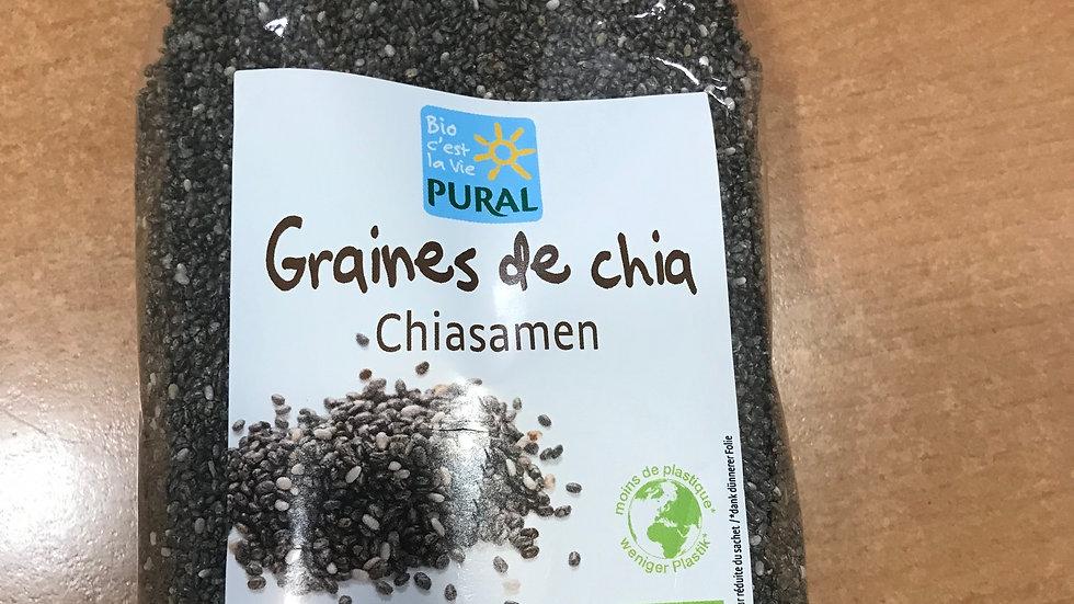 Graines de chia - PURAL- BIO-  250 g