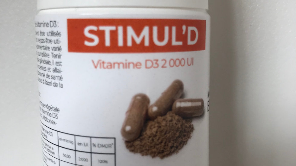 Stimul' D - ADP-Ma Boutique Bien Etre -30 gélules