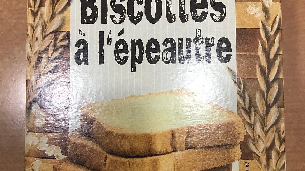 Biscottes à l'épeautre sans sucre ajouté- 200 g