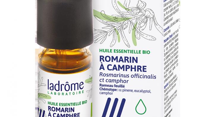 HUILE ESSENTIELLE -ROMARIN A CAMPHRE-  10ml-ladrome laboratoire
