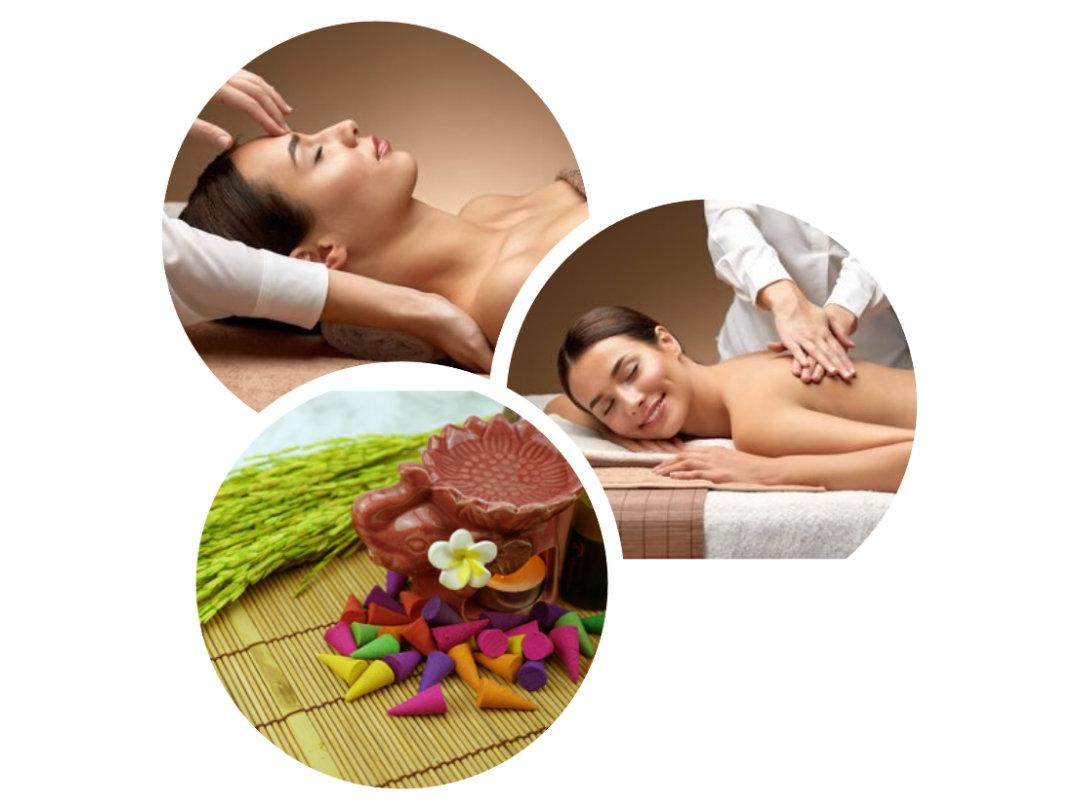 Massage Plenitude Couleur . Destressant