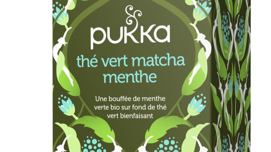 Thé Vert Menthe Matcha Bio - Pukka -