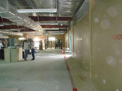 Polymer coating installation