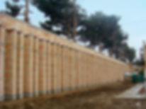 Blast Resistant Dynablok Wall