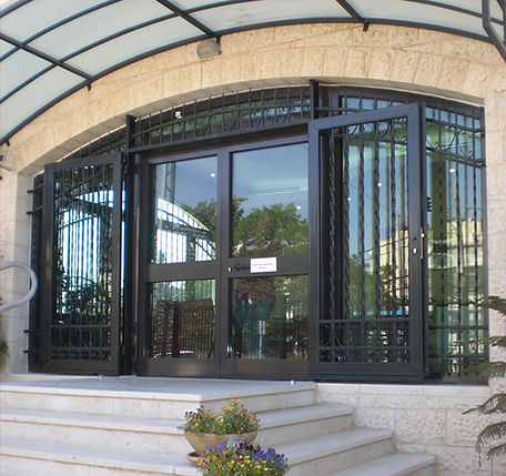 Dynasystems - Dynashield - Entrance Door to Canadian Embassy