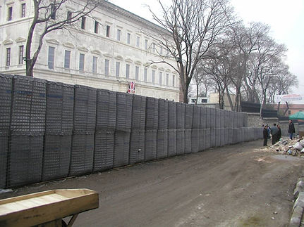 Installation of Dynablok