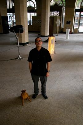MATTEO AND CHICKEN DOG