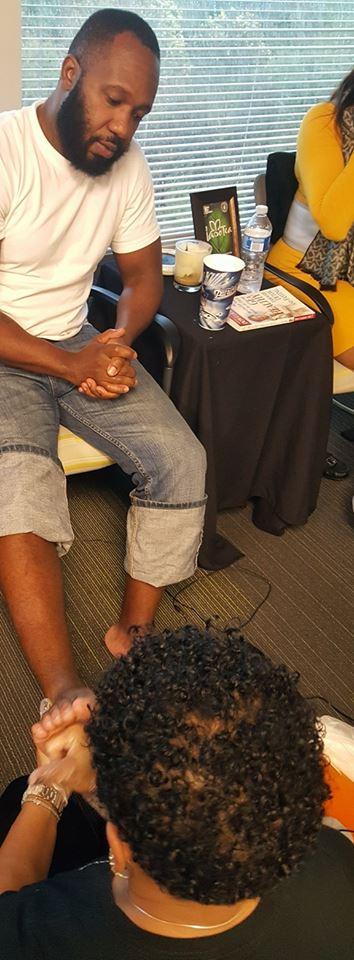 Mobile foot detox services