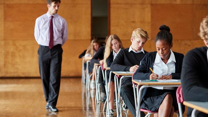 Invigilating tests and examinations