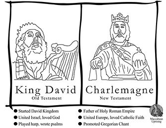 King David Charlemagne coloringpage_0000