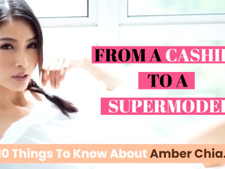 From a cashier to a supermodel: She's Amber Chia!