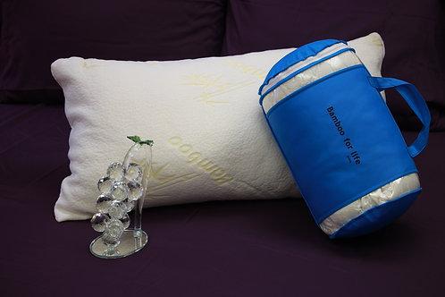 Firm king bamboo pillow