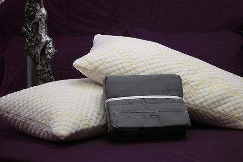 King Package( 2 king pillows+king sheet set)