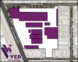 Glendale Map White
