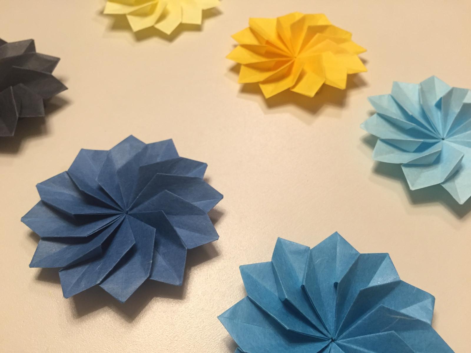 Flowers  Shiro Origami Art