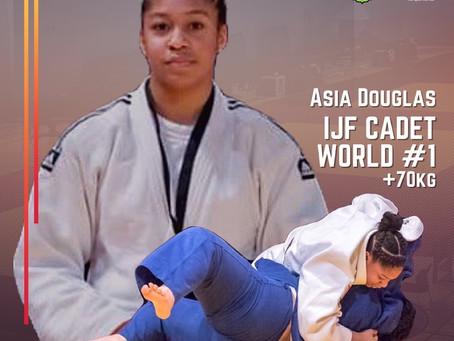 Asia Douglas Tops IJF List
