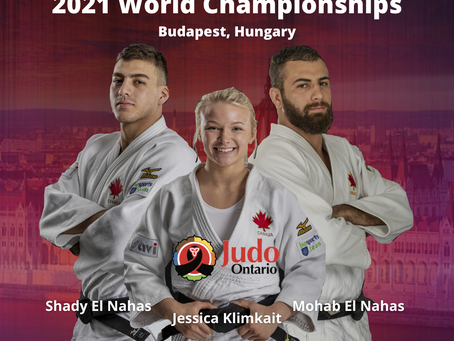 Judo Ontario Athletes Selected For 2021 IJF World Championships