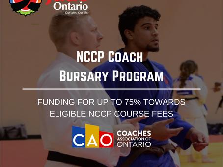 NCCP Coach Bursary Program