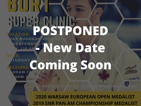 Zachary Burt Clinic - POSTPONED