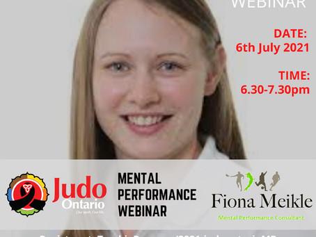 Free Webinar - Mental Performance