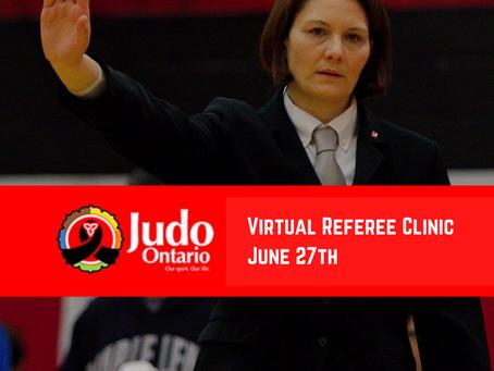 Virtual Referee Clinic - June 27th