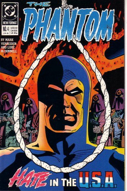 PHANTOM DC 4 ISSUE MINI SERIES 1988 4