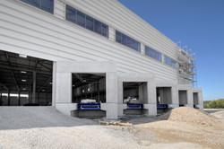 Neubau eines Logistikgebäudes Linden