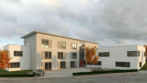 Neubau einer Ergotherapie-Schule, Cölbe, Hephata