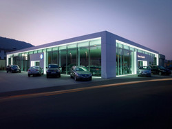 Umbau eines Autohauses in Marburg