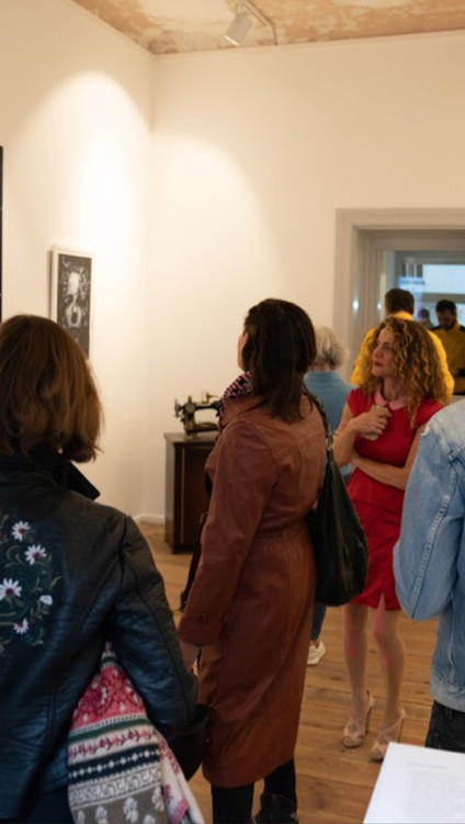 'what am I not seeing' exhibition openin