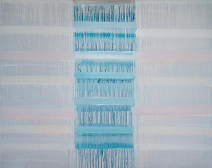 'Stille', oil on canvas. Noise around the
