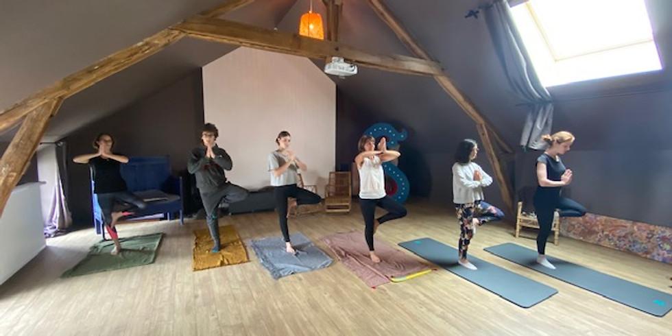 Séjour yoga et balades en forêt - Juin 2021