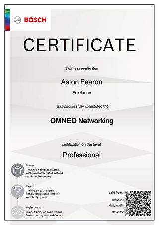 Aston Fearon- RTS OMNEO Networking (Prof