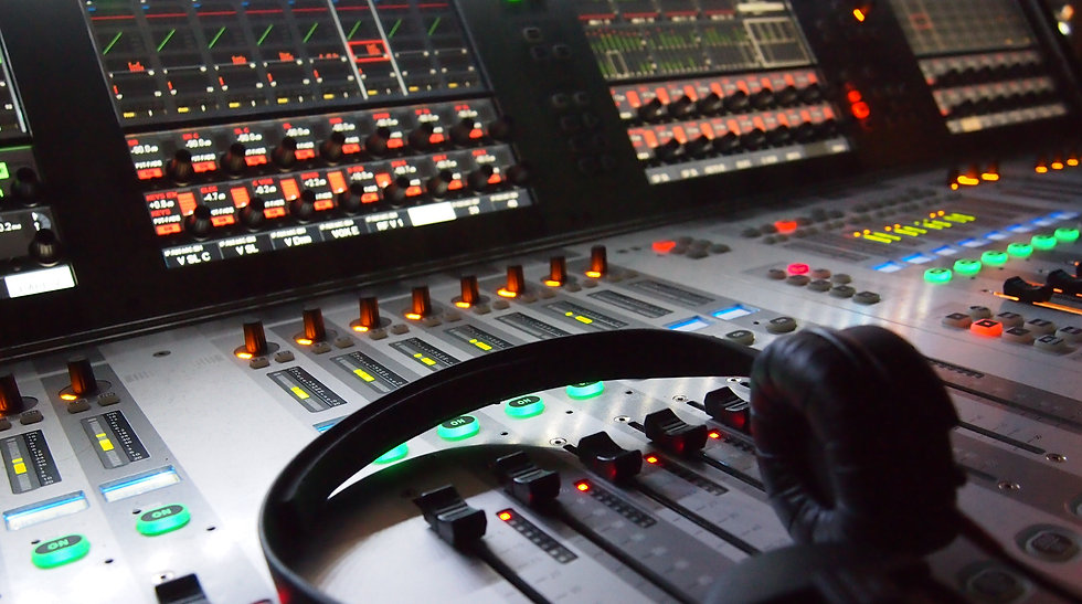 Sound Engineer, Live Sound, Studio