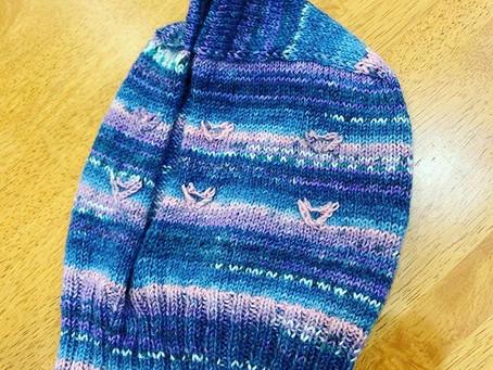 宇宙人帽子、一緒に編みましょう(❁´ω`❁)✨