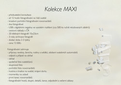 Svatby Kolekce MAXI
