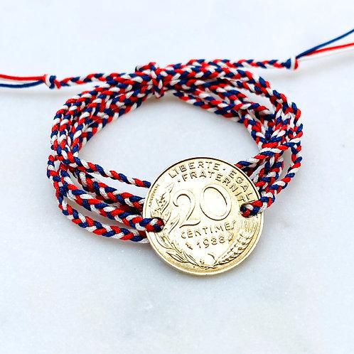 Bracelet Franc, Le Tricolore