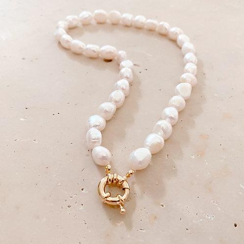 Collier de Perles, Doré à l'or fin