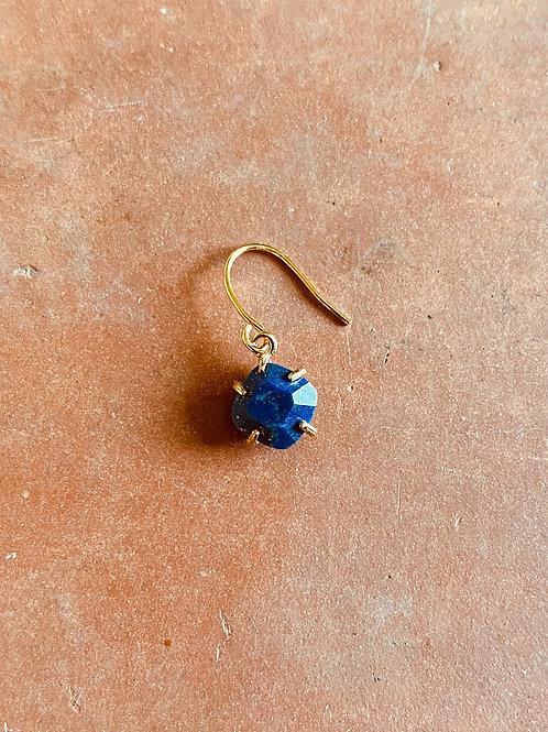 Boucle Stone, Lapis Lazuli