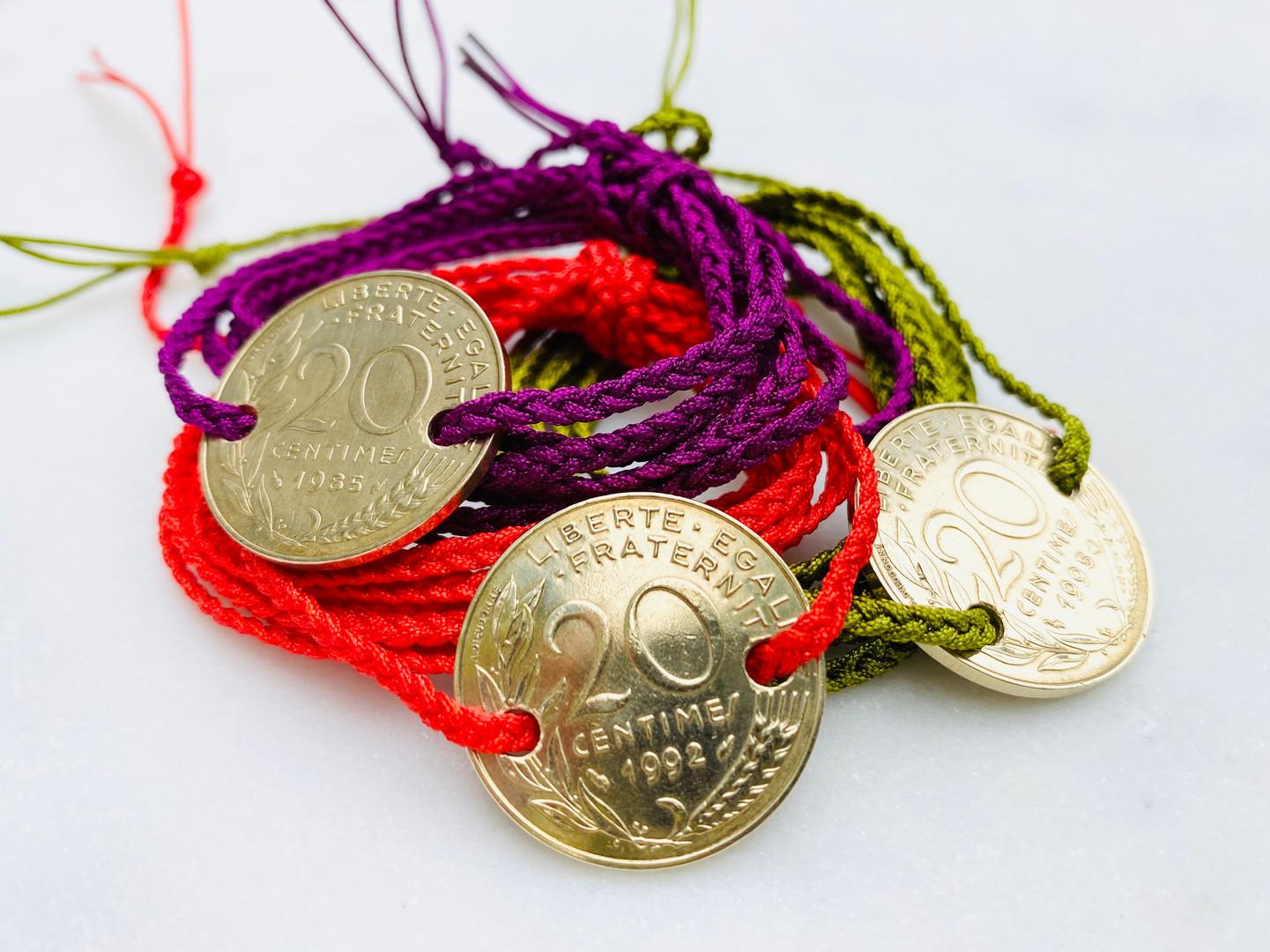 Bracelets Francs