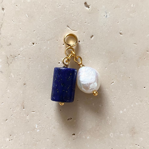 Pendentif Lapis Lazuli et Perle