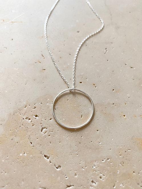 Collier Cercle, Argent 925