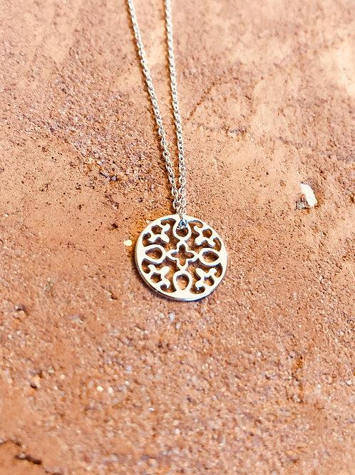 Collier Alhambra, Argent 925