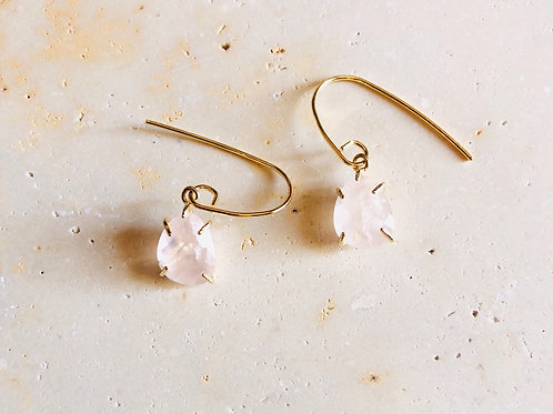 Boucle Drop, Quartz rose