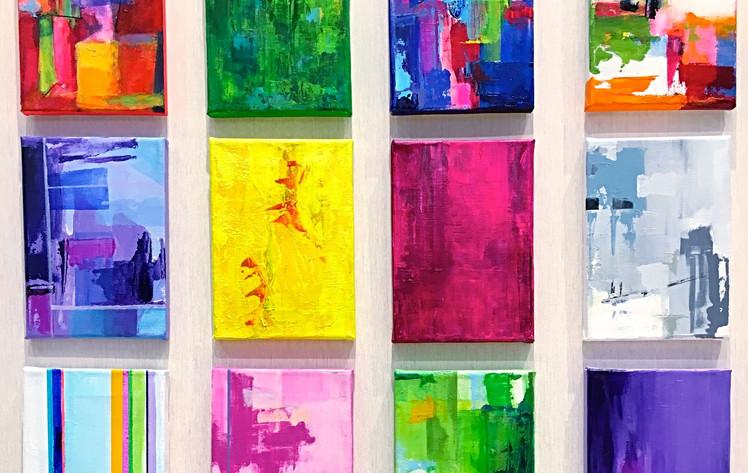 Full grid - 12 paintings