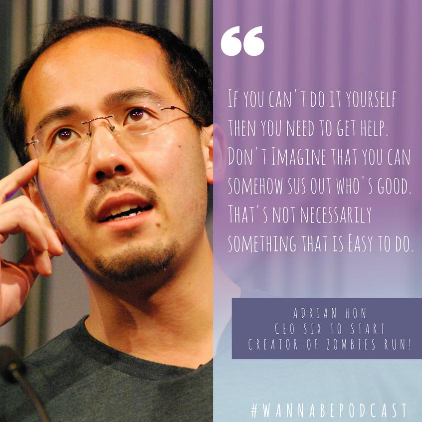 Adrian Hon on Wanna Be Podcast