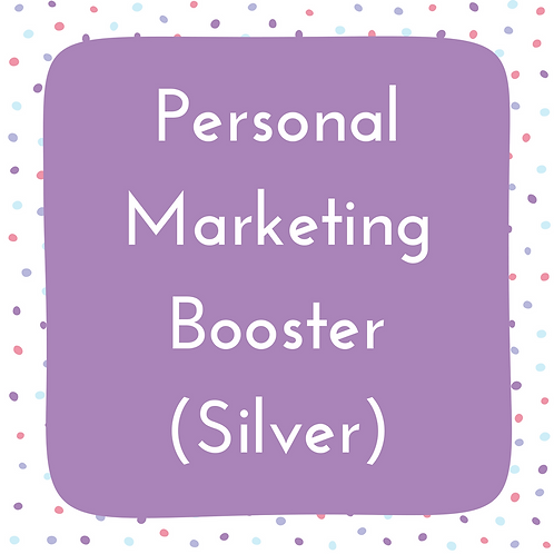 Personal Marketing Booster- Silver