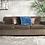 Thumbnail: Brown 3-Seater Sofa