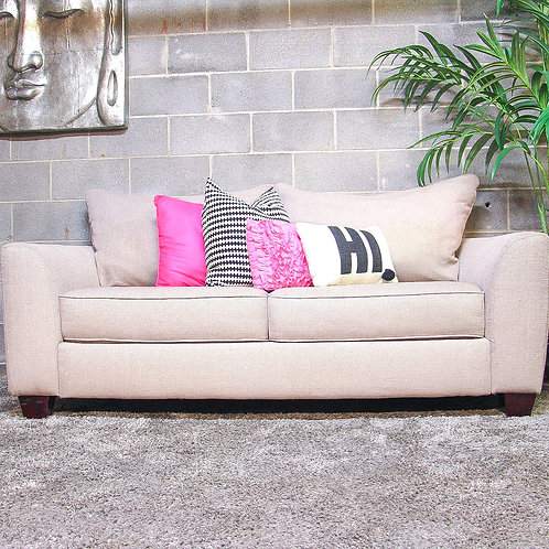 Rooms to Go Sandia Heights Beige Sofa